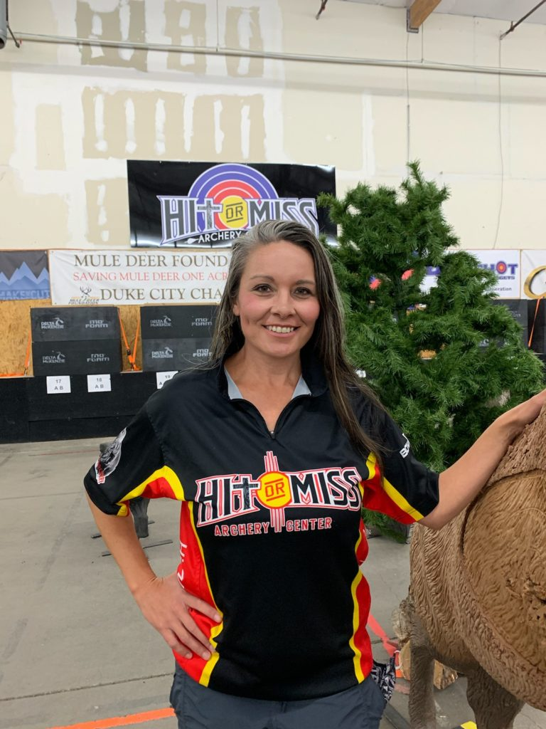 Julee Overbay Hit or Miss Archery